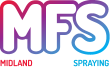 Midland Furniture Spraying Logo