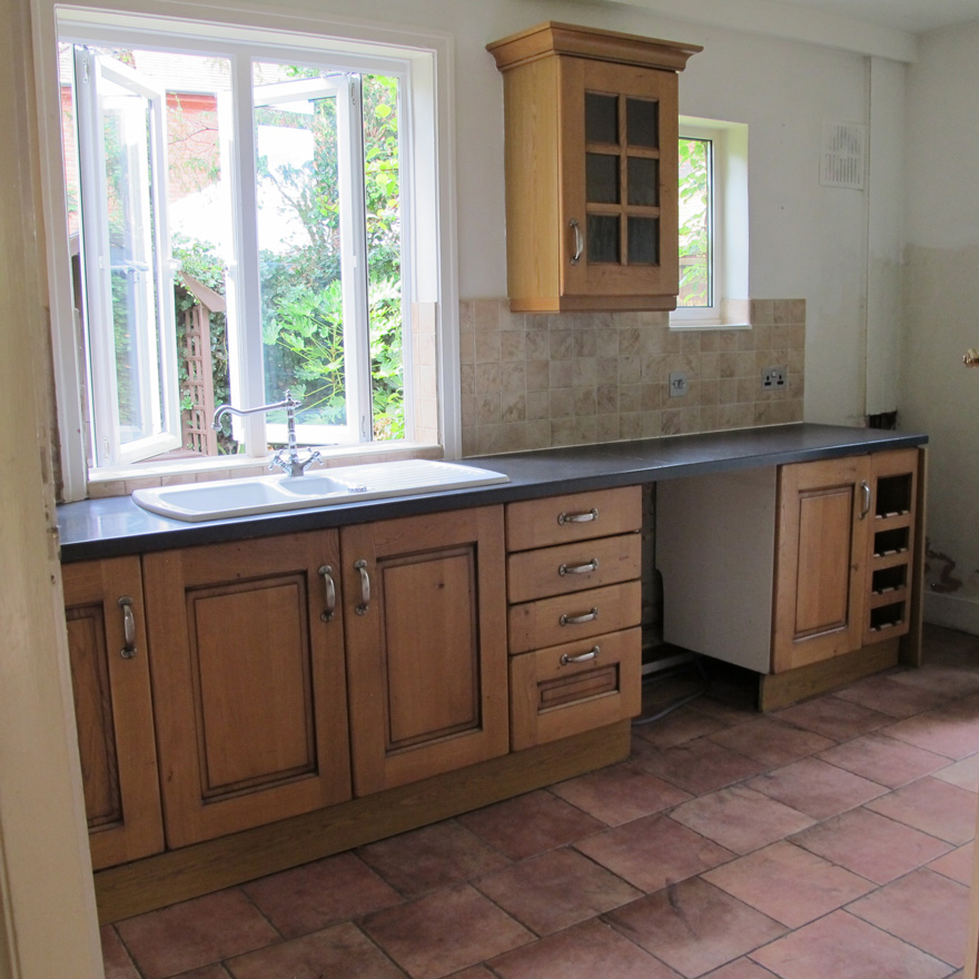 Kitchen Gallery Solihull: Example Of Furniture Resprays And Restoration