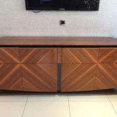 Italian wood sideboard before